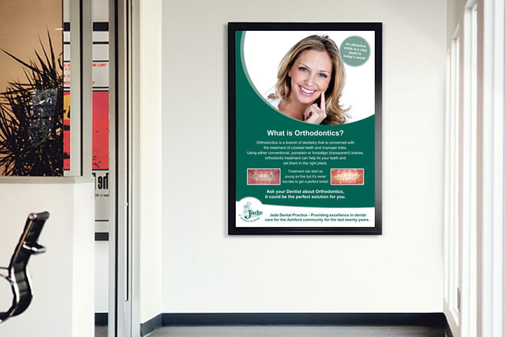 Jade Dental - Poster Design