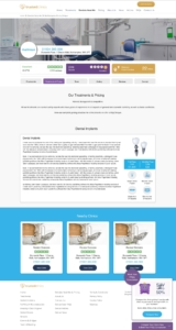 Trusted Clinics - Dental Pages v1